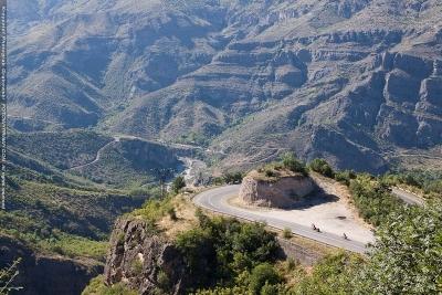Armenia - górskie drogi