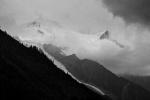 Biwak pod Mt Blanc