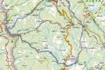 Stożek, Kubalonka - mapa trasy
