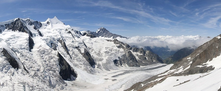 Panorama Alp Berneńskich