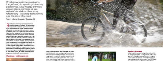 Fotografowanie podczas wypraw rowerowych – poradnik