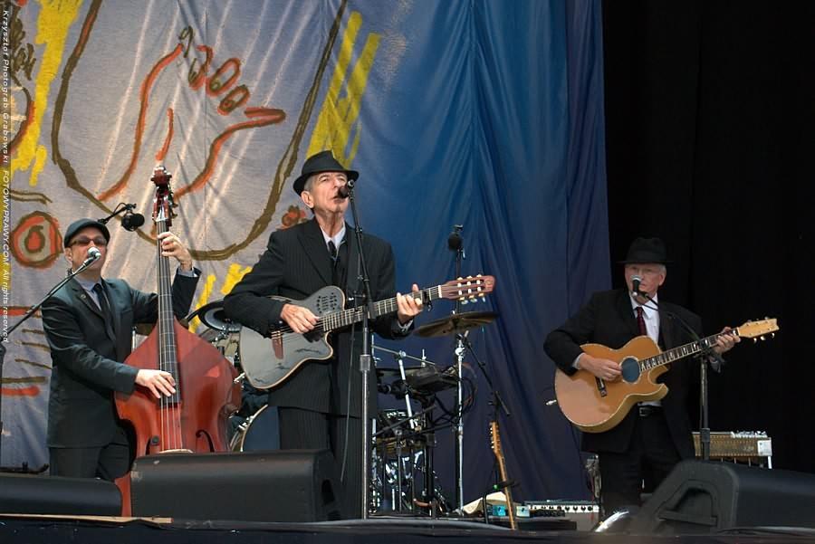 Maestro Leonard Cohen live in Amsterdam