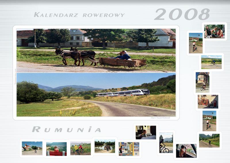 Kalendarz rowerowy na rok 2008 – rumuńskie klimaty