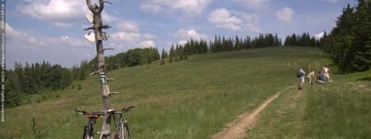 Wycieczka MTB w okolicy Babiej Góry – folklor dla każdego