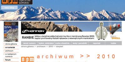 NPM – Magazyn górski wykorzystał nasze zdjęcia