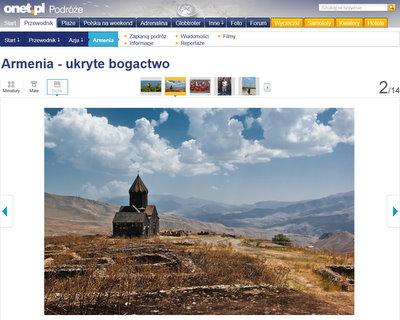 Onet.pl i FotoGeA.com – o podróży po Armenii