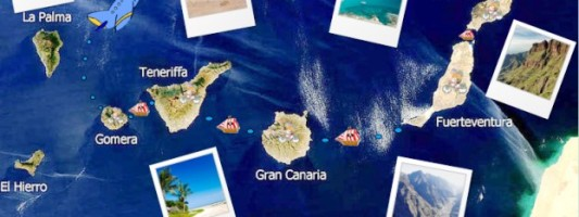 Wyspy Kanaryjskie na rowerach