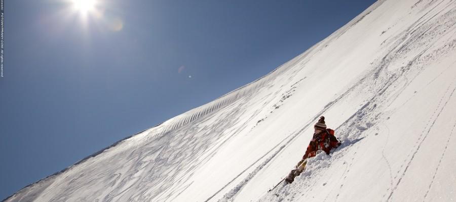 Na skiturach i splitboardzie w Tatrach