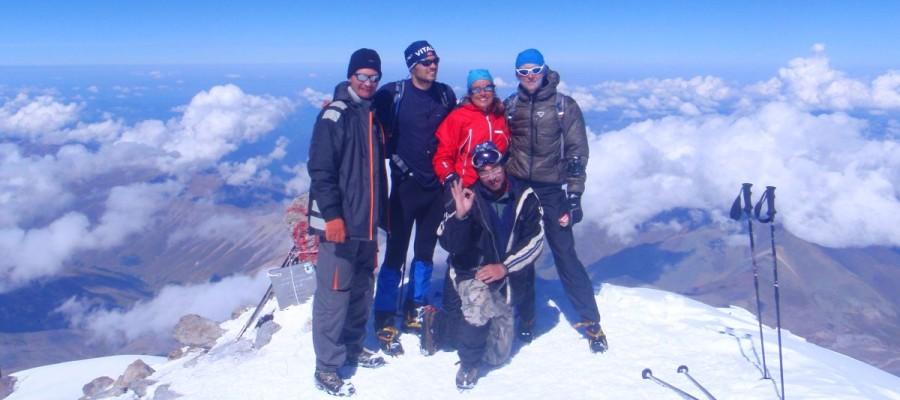 Elbrus – najwyższy szczyt Europy