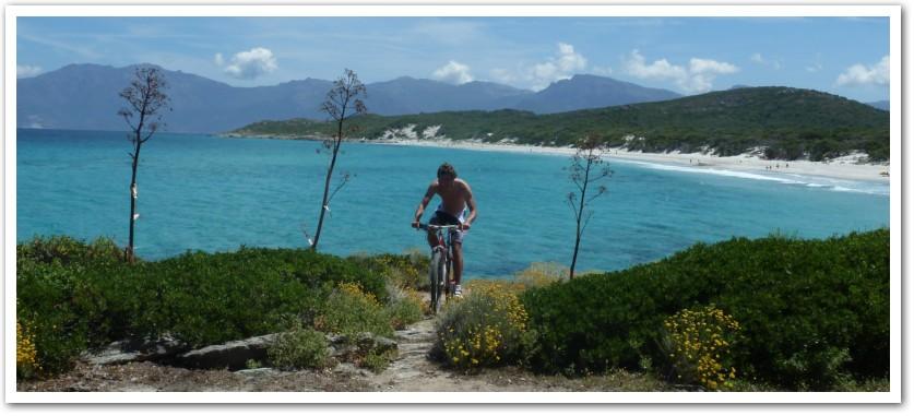 Korsyka na rowerach