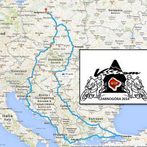 Wyprawa motocyklowa po Europie – Czarnogóra 2014