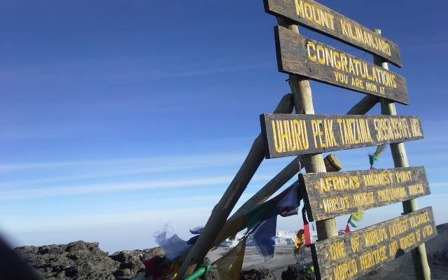 Bluemu - Kilimandżaro na Sylwestra 2017/2018
