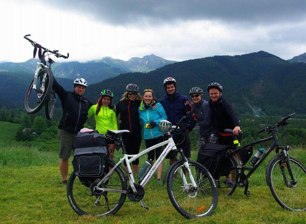 Rowerem wokół Tatr - oferta wyjazdu