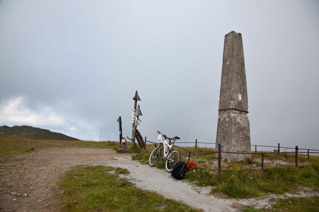 Najwyższe szczyty dostępne na rowerze - Kralova Hola, Słowacja, Tatry