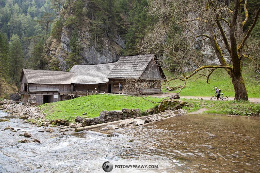 Młyny wodne w Obłazach - Słowacja