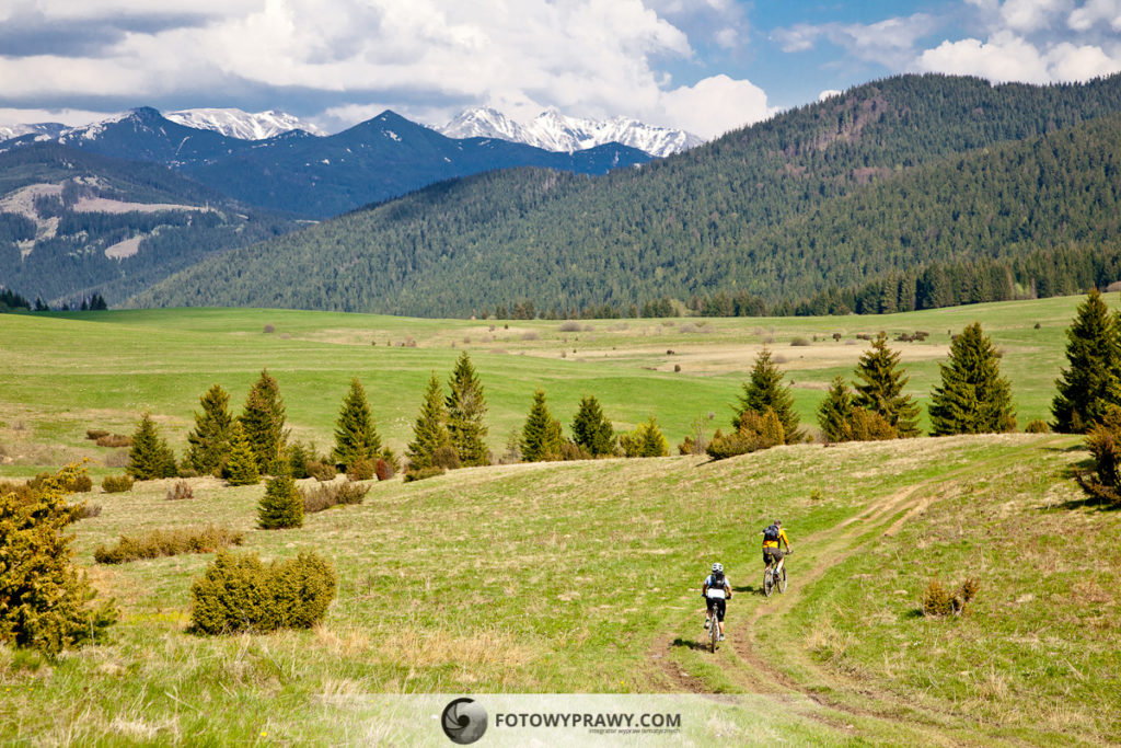 Słowacja na rowerach - Góry Choczańskie