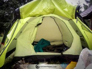 Wrażenia z użytkowania namiotu Coleman Monviso 2.