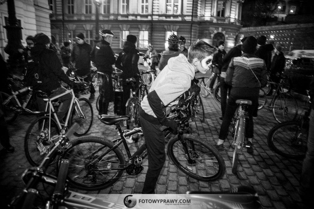 Rowerowe Santa Muerte w Bielsku-Białej | Fotowyprawy.com
