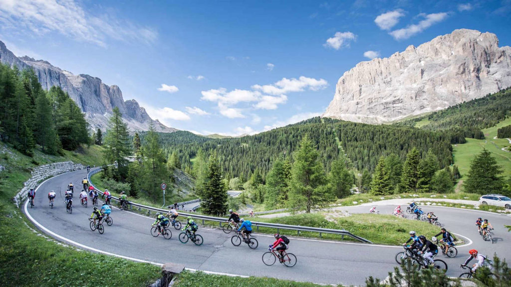 Weekend rowerowy w Dolomitach