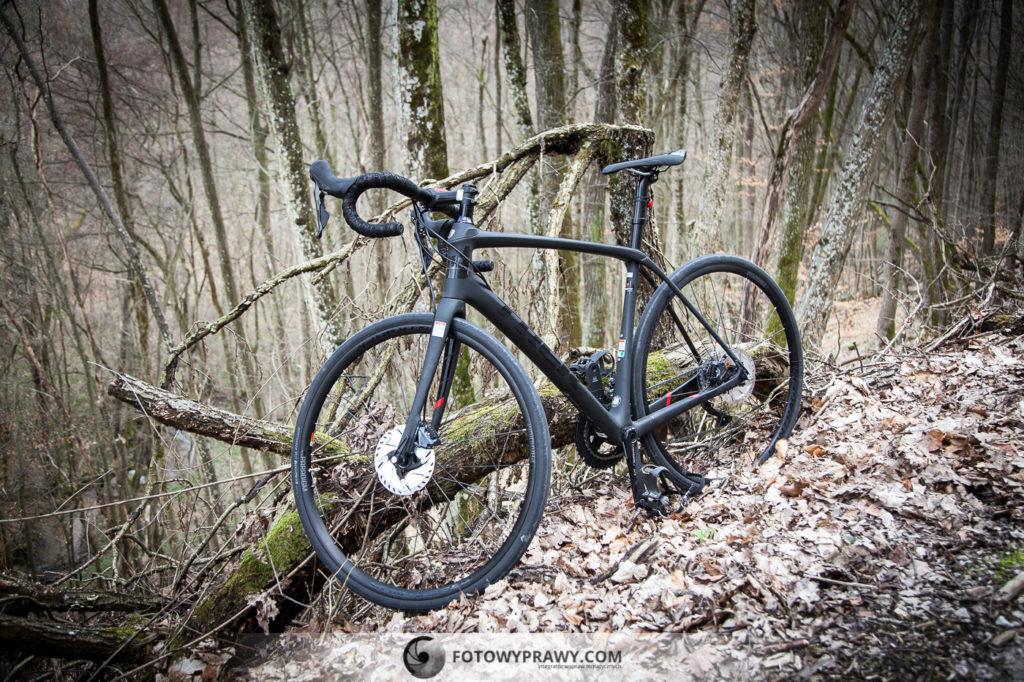 Fotowyprawy test roweru gravelowego: Trek Domane