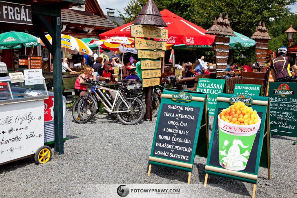 Przełęcz Pustevny - smakołyki dla dzieci i dorosłych
