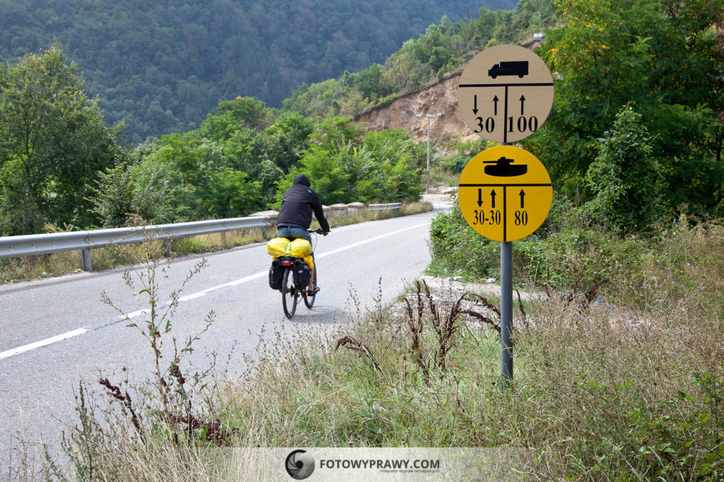 Wakacje w Kosowie - wyprawa rowerowa (Szar Planina)