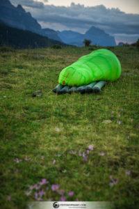 Fotowyprawy: Testujemy lekki śpiwór puchowy Cumulus X-Lite 400