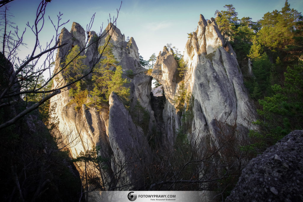Najpiękniejsze góry na jesień - Sulowskie Skały