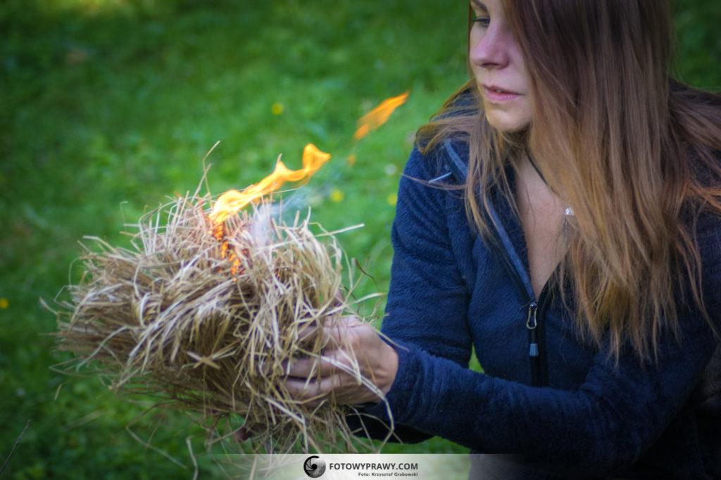 krzesanie ognia