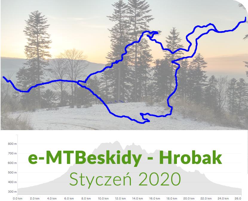 POWERower e-MTBeskidy - Hrobak styczeń 2020