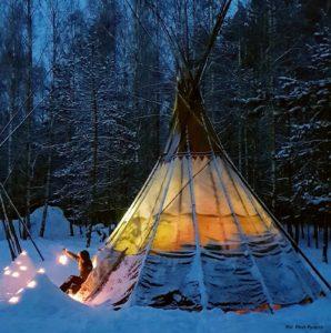 Zimowe biwakowanie