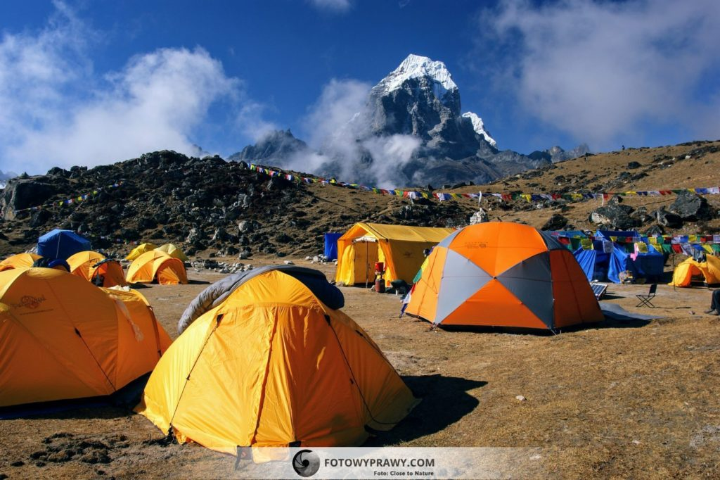 Trekking do Ama Dablam Base Camp (4.570 m n.p.m.)