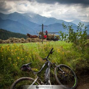 Z Tatrami w tle na rowerze elektrycznym [Rowertour, wrzesień 2018]