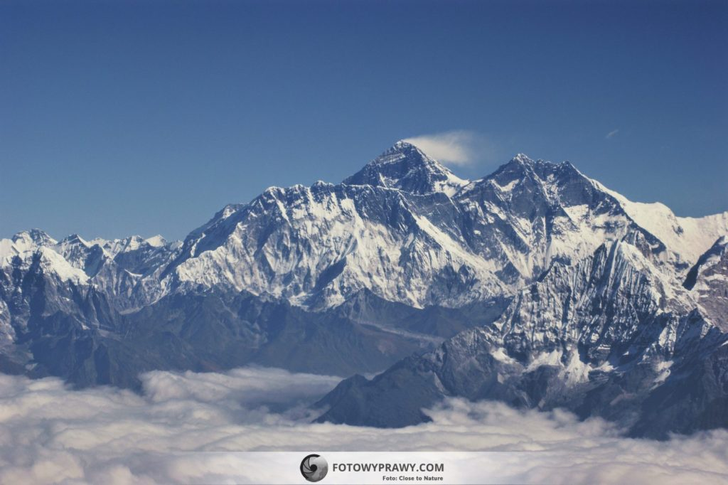 Lot widokowy wokół Mount Everest