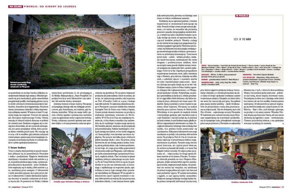 Na lekko po marzenia – Pireneje [Rowertour, listopad 2019]