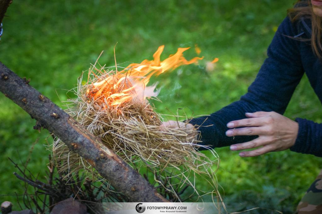 Sposób na rozpalenie ognia