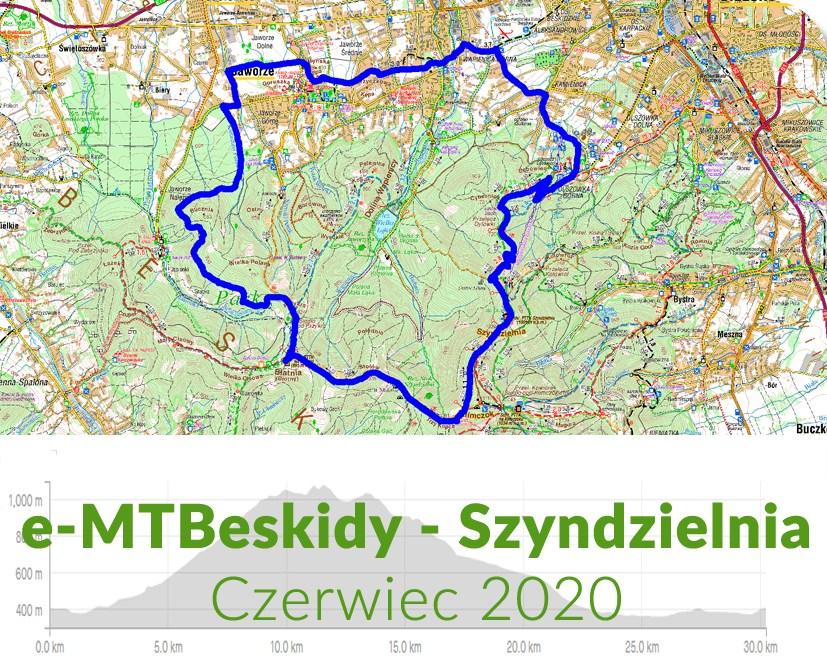 POWERower e-MTBeskidy - Szyndzielnia 2020