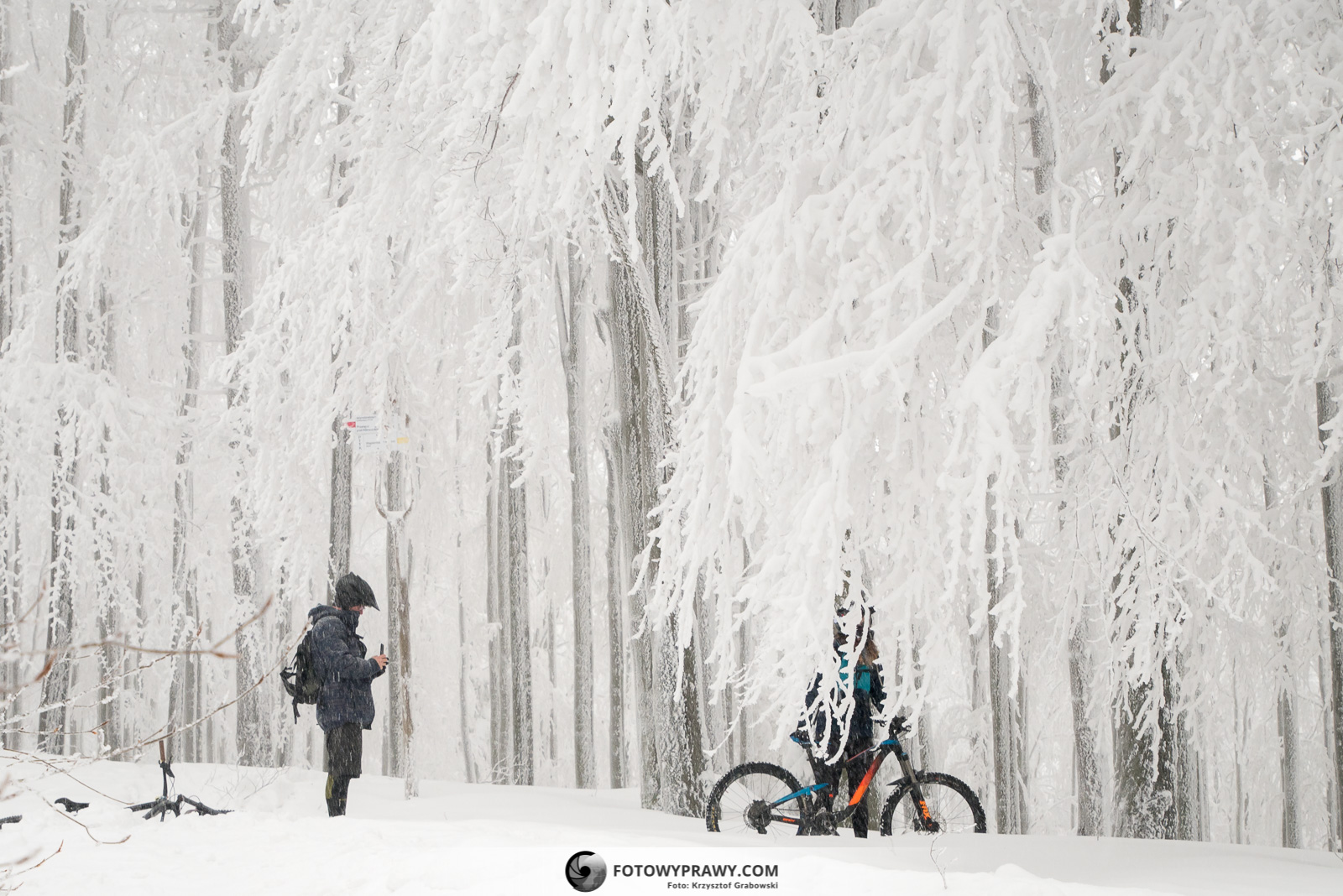Rower elektryczny zimą - uroki i zachwyty