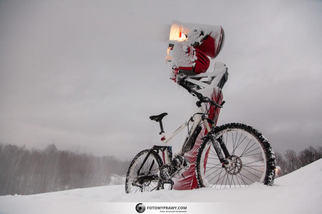 Rower elektryczny zimą - poradnik jak zacząć jeździć.