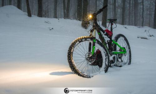 Rower elektryczny zimą - poradnik jak zacząć jeździć